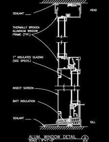 Exterior Windows Sample Drawings