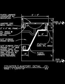Fixed Furnishings Sample Drawings